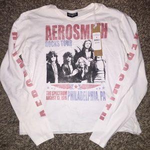 Aerosmith Long sleeve tee